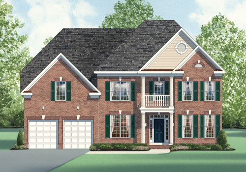 The Cypress Model New Homes In Northern Virginia