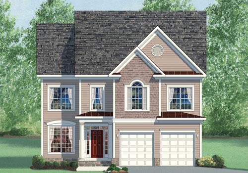 Laurel elev1 for Modern homes northern virginia