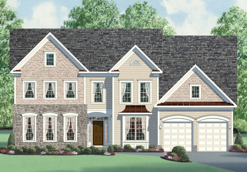 The Lexington Model New Homes In Northern Virginia