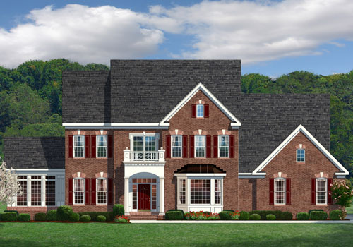 The Oakton Model New Homes In Northern Virginia