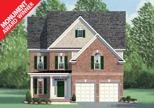 The Oakwood Model New Homes In Northern Virginia