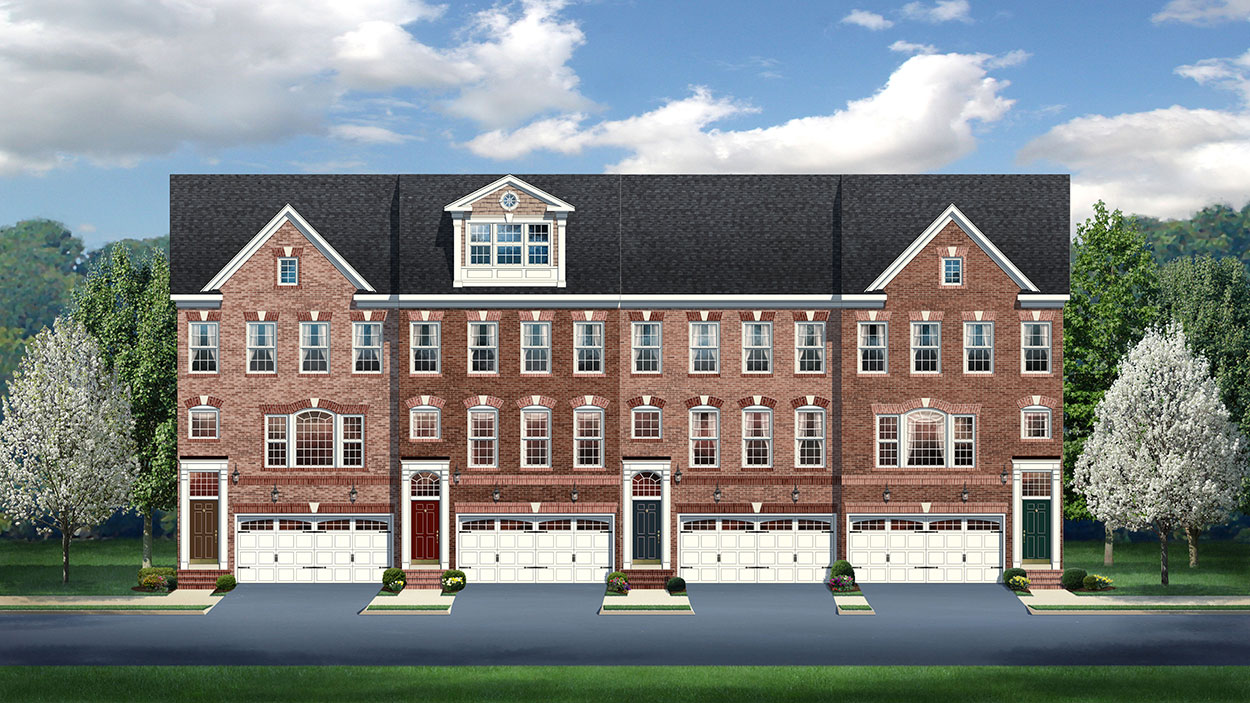 saratoga towns 3 4 level towns in springfield new homes in